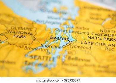 Everett. Washington. USA