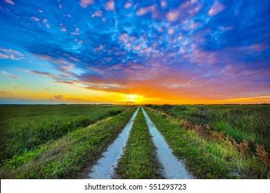 Everglades Sunset Path (2)