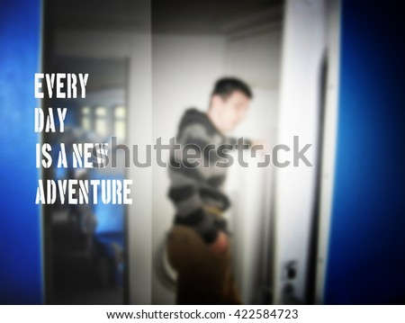Every Day New Adventure Travel Train Stock Photo Edit Now