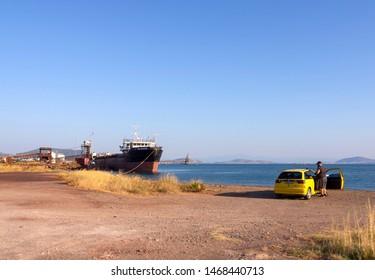 Ship Wreck Greece Images, Stock Photos & Vectors | Shutterstock