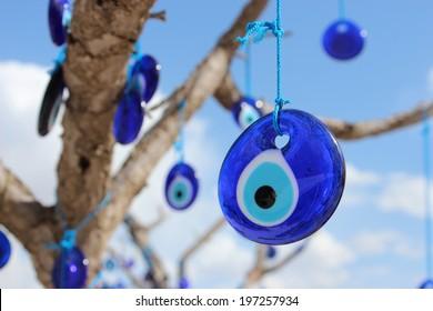 Evil eye charms