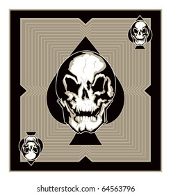 Evil Skull of Spades