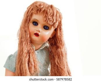 Evil vintage doll