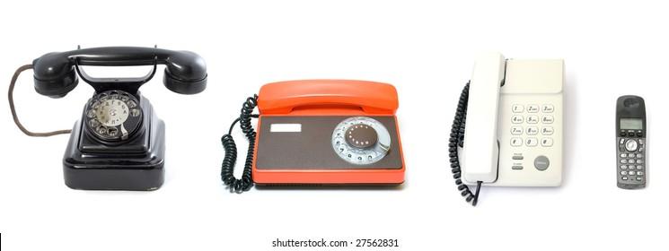 Evolution of phones
