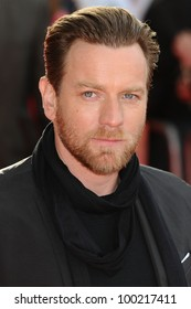 "Ewan McGregor arrives for the ""Salmon Fishing in the Yemen"" premiere at the Odeon Kensington, London. 10/03/2012 Picture by: Steve Vas / Featureflash"