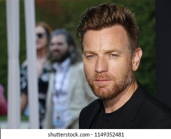 Ewan McGregor at the Los Angeles premiere of 'Christopher Robin' held at the Walt Disney Studios in Burbank, USA on July 30, 2018.