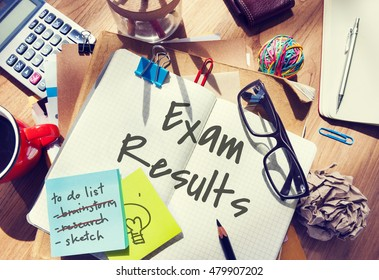 Exam Results School Examination Review Assessment Concept