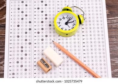 The exam test