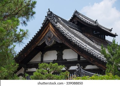 Example of ancient Japanese temple architecture