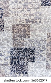 example of carpet in shades of gray, note shallow depth of field