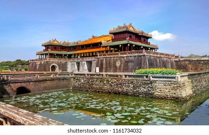 an example of classical Vietnamese architecture of the 18th-19th century in Chinese style Hue Royal Palace