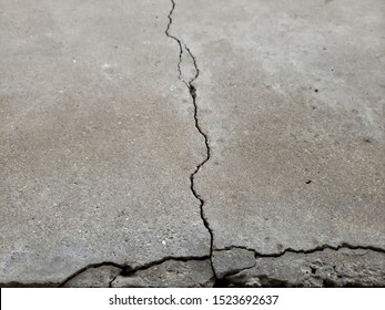 Examples of cracked foundations and sidewalks or driveways in need of foundation or driveway concrete repair