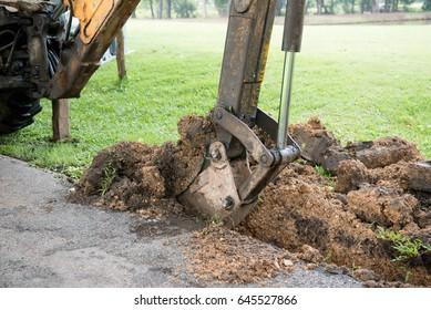 Garten Bagger Images Stock Photos Vectors Shutterstock