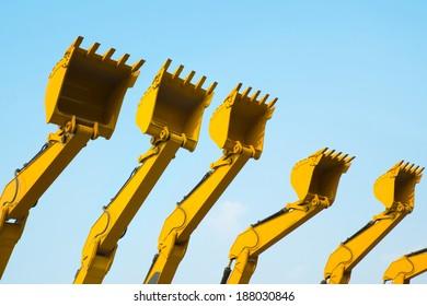 Excavator Bucket Images, Stock Photos & Vectors | Shutterstock
