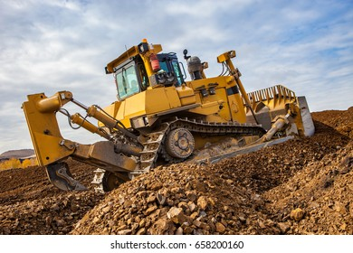 Excavator shipping works in his career. Mining