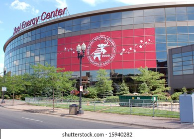 Excel Energy Center in St. Paul, Minnesota - Site of the 2008 Republican Convention and home of the Minnesota Wild of the National Hockey League