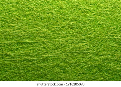 Excellent rough fleecy textured background of green color