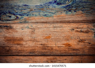 excellent textural background made of stained wood with colored paint in the horizontal version