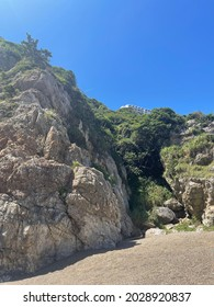 Excerpt from Tahara beach on a beautiful day at the beach