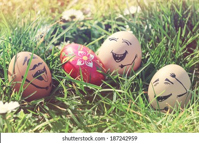 exclusionary eggs laugh easter egg