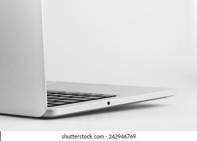 exclusive business computer on a white background
