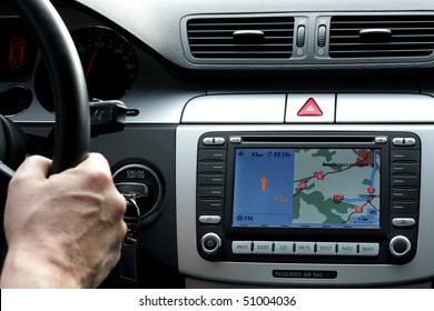 exclusive car dashboard and gps control panel
