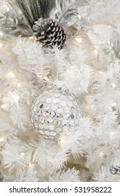 """Exclusive ornaments embellished with sparkling and shining sequins / Grand christmas decorations / Ideal for promoting """"winter theme"""" settings background"""