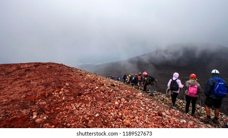 Excursion on the Etna, Sicily, Italy