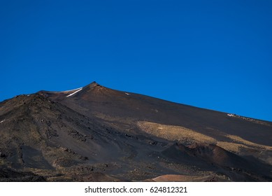 An excursion on the Montagnola along the South side of Etna mount at spring in Sicily