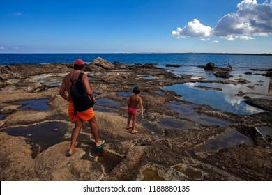 An excursion in Vendicari Reserve, Sicily Italia