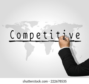 Executive Hand writing Competitive