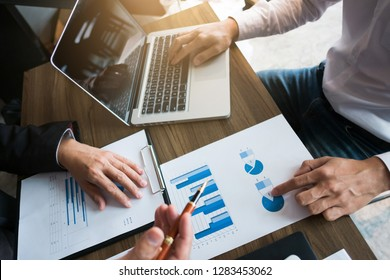 executives consultant work together with mutual fund spreadsheets .