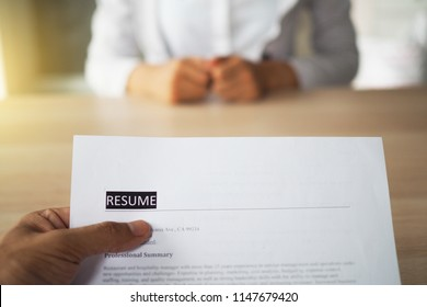 Executives are interviewing. Focus on resume writing tips, candidate qualifications, interviewing skills and preparation before interview. Consideration for relief to employees.