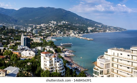 exellent Yalta Bay on a bright day
