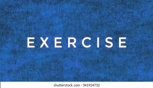 Exercise word.