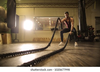 Exercising with ropes