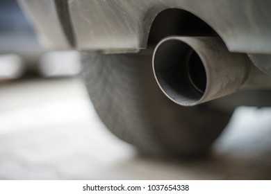 Exhaust from a diesel vehicle