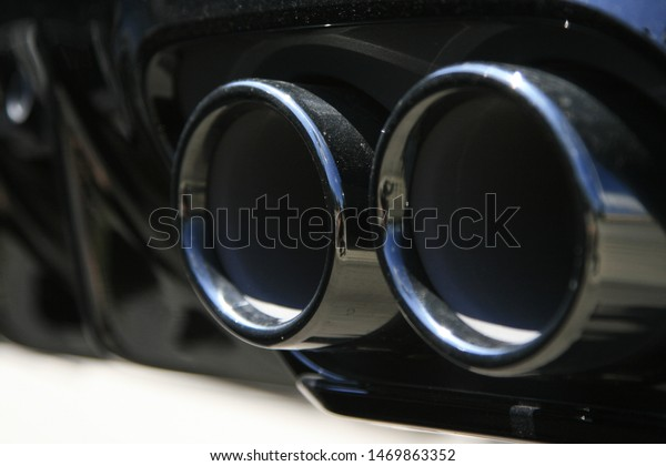 Exhaust pipes Mercedes-Benz C-Class AMG