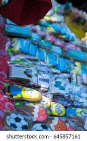 Exhibition of Ukrainian products on Ukrainian embroidery festival May 19, 2017 in Horodyshche, Ukraine