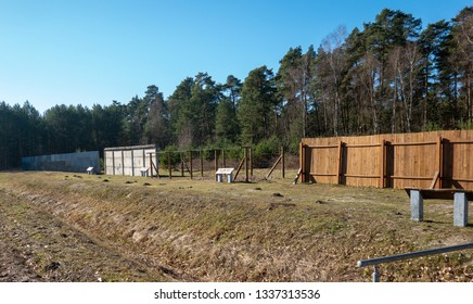 Exhibition of the various border security installations between the German Democratic Republic (GDR) and the Federal Republic of Germany (FRG) in Kaiserwinkel, Lower Saxony
