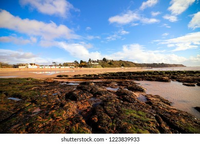Exmouth beach and rock pools