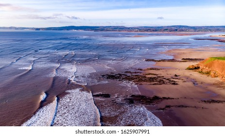 Exmouth beach view by drone