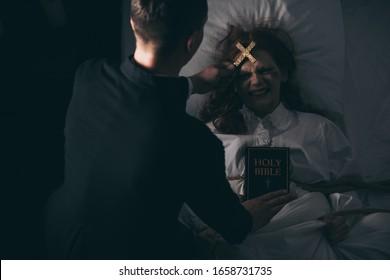 Exorcist Images Stock Photos Vectors Shutterstock