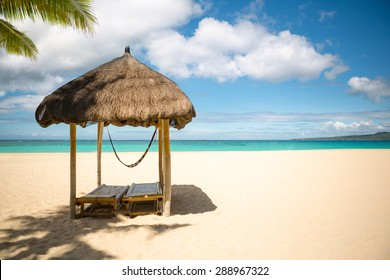 Exotic beach, beautiful place for rest