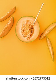 Color Melon Images Stock Photos Vectors Shutterstock Use this zesty orange for an accent in a kitchen soffit area. https www shutterstock com image photo exotic cantaloupe melon slices on marigold 1872973012