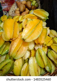 Exotic and delicious fruit named Averrhoa Carambola