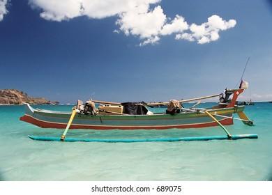 Exotic destinations. Sumbawa beach, Indonesia