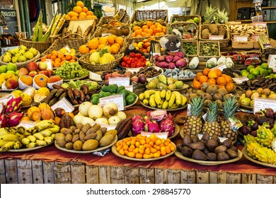 Exotic fruits on Munich market