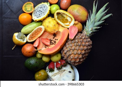 Exotic fruits variety