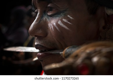 Exotic images from The Fascinating Festival of Borneo Culture 2nd. The event were held at Banjarmasin City, South Borneo or South Kalimantan, Indonesia, August 11-15, 2018. All about Dayak Tribes.